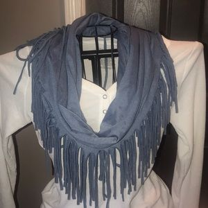 Other - Grey blue scarf